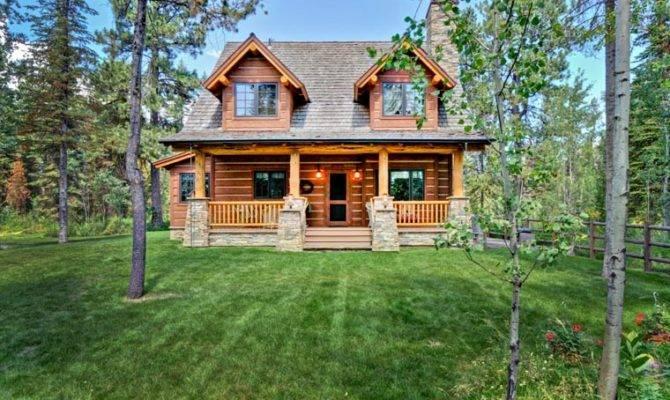Cabin Craftsman Log House Plan Love Small Homey