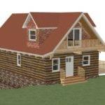 Cabin Floor Plans Loft Open Second Sun