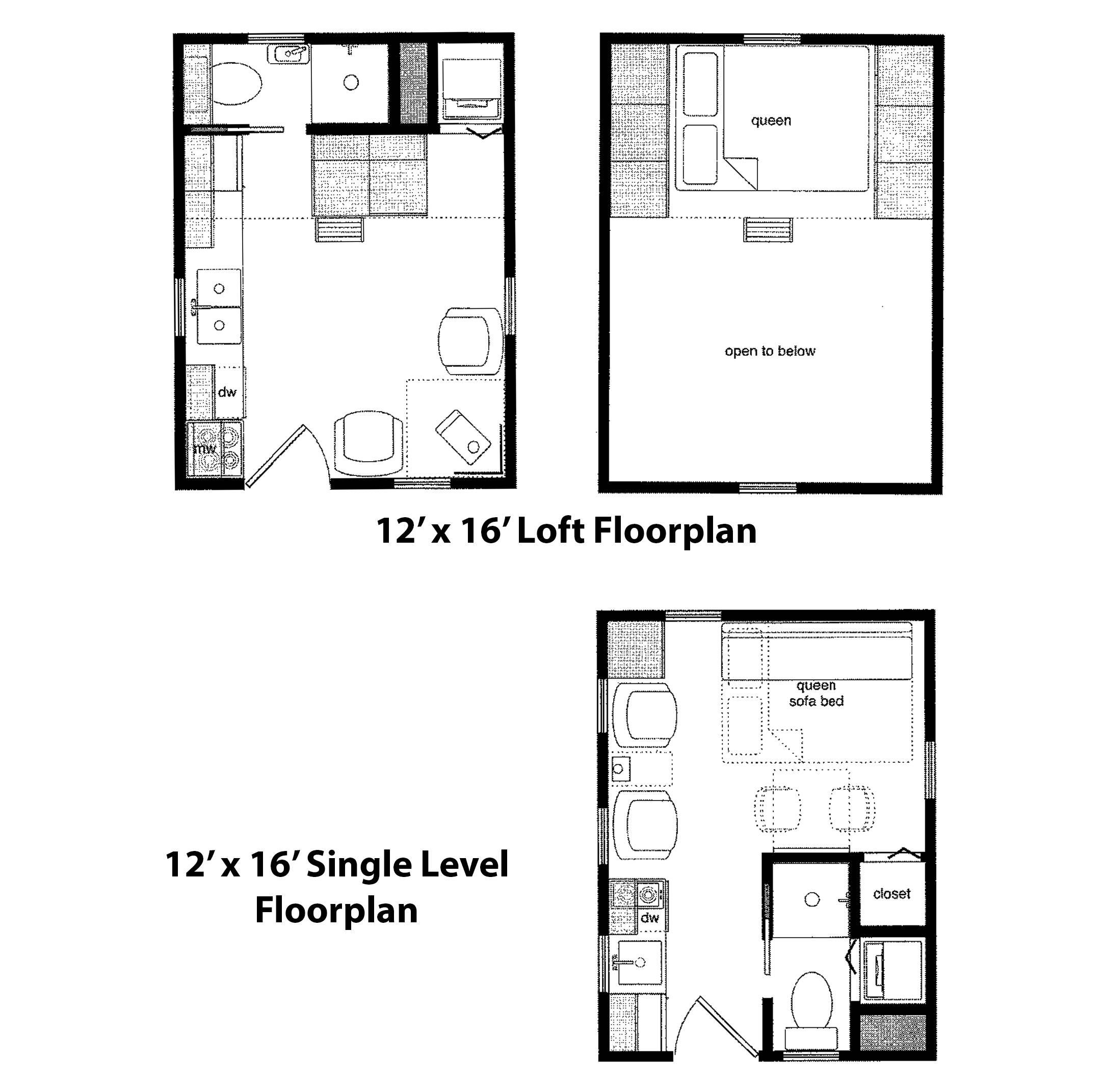 Cabin Floorplan Joy Studio Design