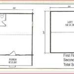 Cabin House Plans Hunting Cabins Vacation Beach