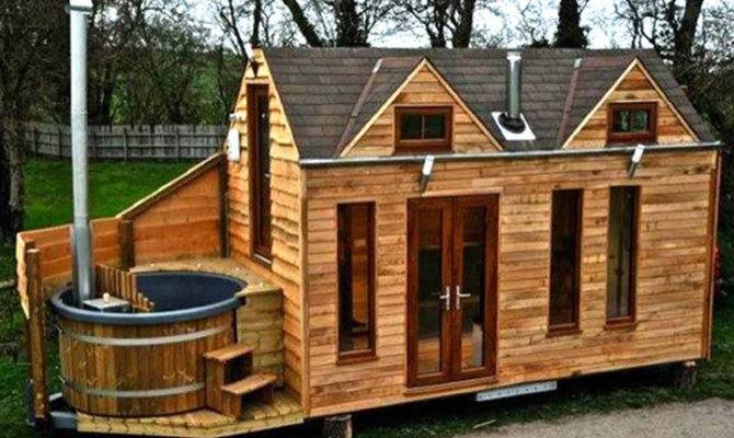 Cabin Log Home Small Mobile Homes