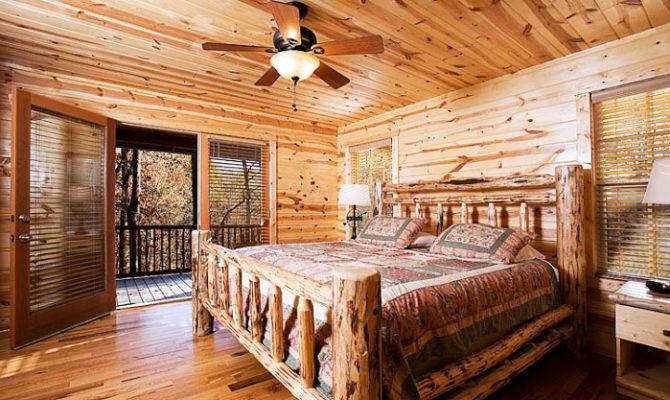 Cabin Master Bedrooms Ideas