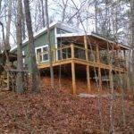Cabin Shed Roof Design Diy Gambrel Howtodiy Diyshedplans