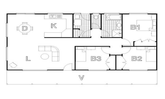 Cabin Style House Plans Craftsman Floor