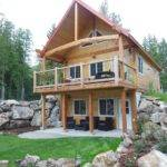 Cabin Walkout Pinterest