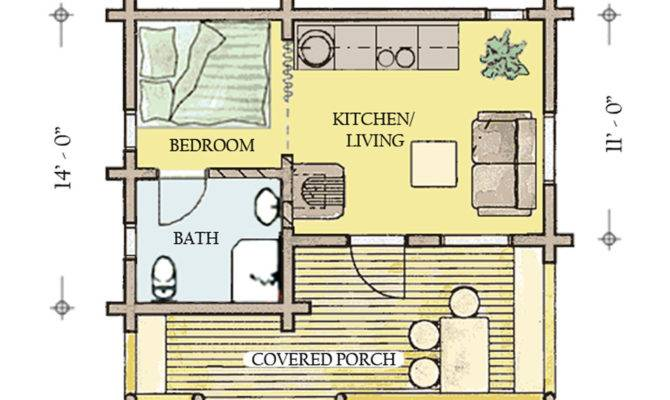 Cabins Floor Plans Over House
