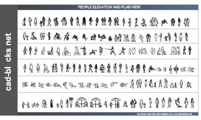 Cad People Blocks Plan Elevation