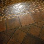 California Mediterranean Floor Detailing
