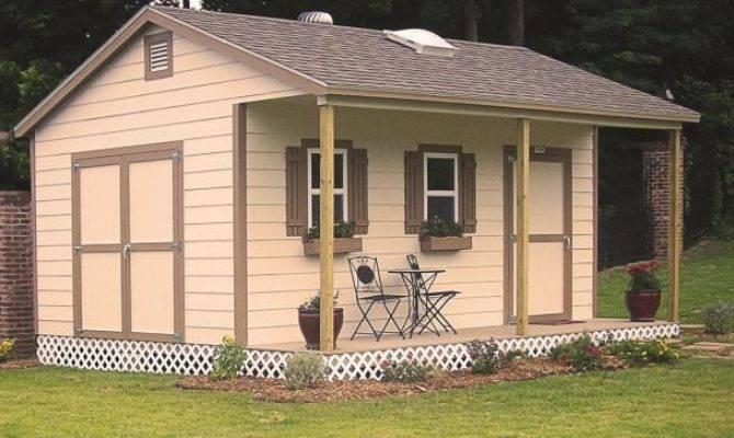 Can Build Backyard Shed Basement Leisure