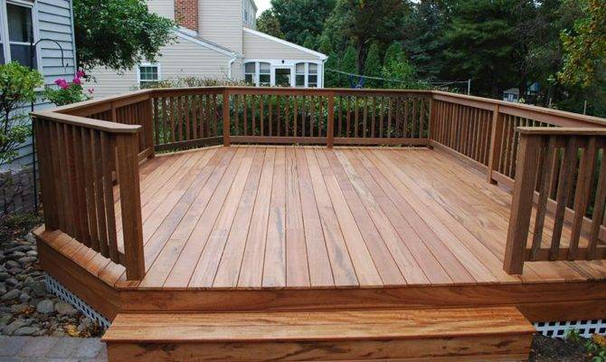 Can Standing Deck Thats Old House