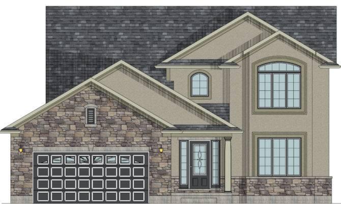 Canadian Home Designs Custom House Plans Garage