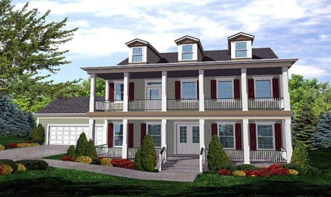 Cape Cod Colonial House American Plans