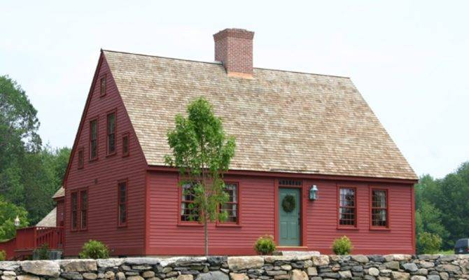 Cape Cod Colonial House New England Plans