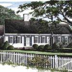 Cape Cod Cottage House Plans Small Simple