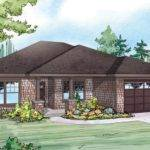 Cape Cod Cottage Ranch House Plan Elevation