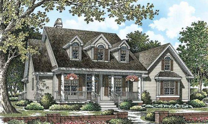 Cape Cod House Plans Dormers