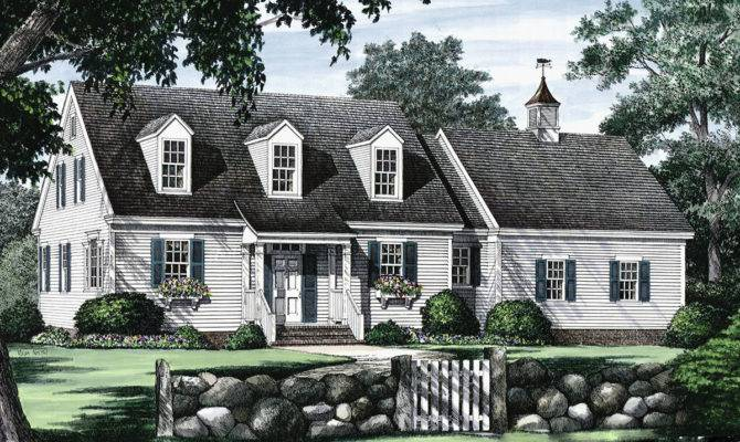 Cape Cod Open Floor Plan Architectural