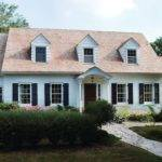 Cape Cod Portico Home Design Ideas Remodel