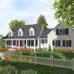 Cape Cod Story Home Plans Sale Original