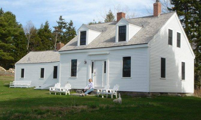 Cape Cod Style Dormer Addition Exterior Traditional