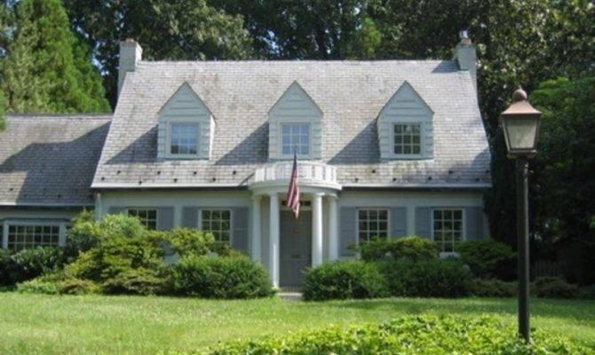 Cape Cod Style House Arlington Virginia Home Styles Part