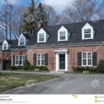 Cape Cod Style House Brick