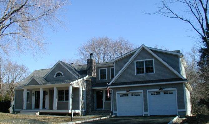 Cape Cod Style House Original Half Has Screened