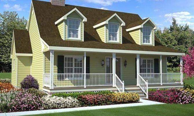 Cape Cod Style House Plans Aka New England
