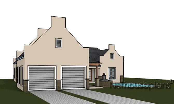 Cape Dutch Style House Plans