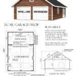 Car Attic Garage Plan Shop Back