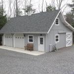 Car Barn Style Gambrel Roof Garage Loft Plans