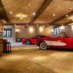 Car Garage Houses Three Very Nice Cars Ferrari Maserati