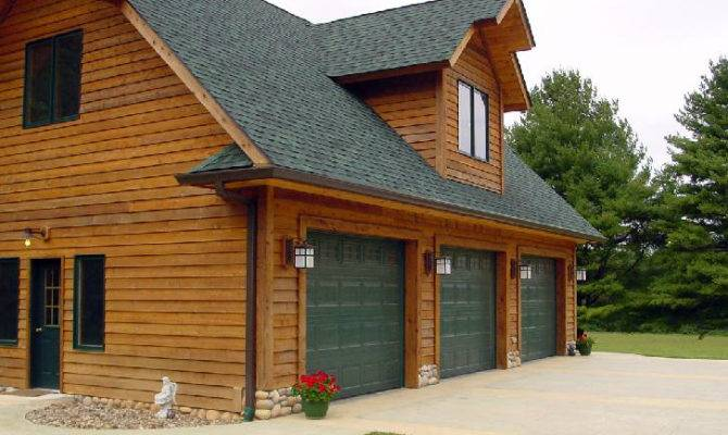 Car Garage Living Space Home Plans Over