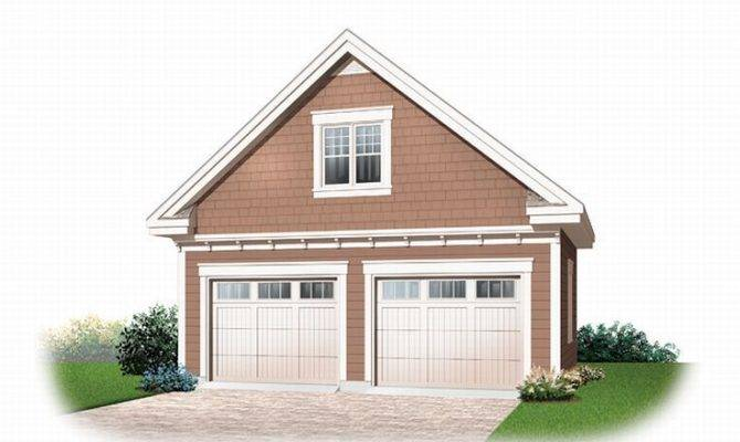Car Garage Loft Plan Around House Pinterest