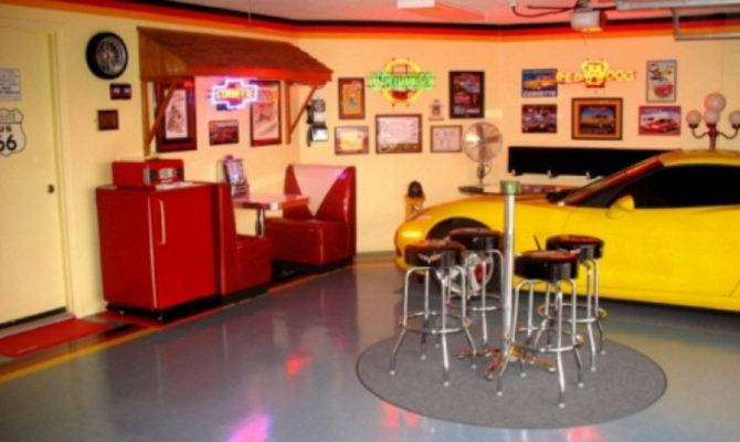 Car Garage Man Cave Ideas Your Dream