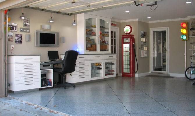Car Garage Man Cave Items House Design Office