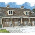 Car Garage Plans European Style Four Plan Design