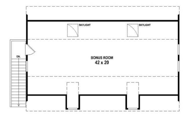 Car Garage Plans Three Loft Plan