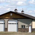 Car Garage Shop Residential Pole Buildings