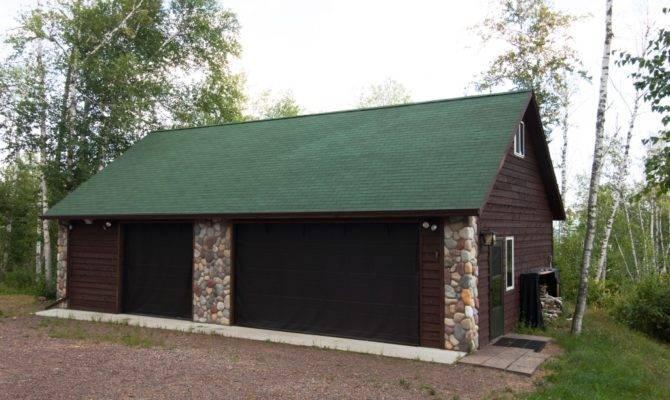 Car Garage Stone Accents Economy Garages Usa Inc