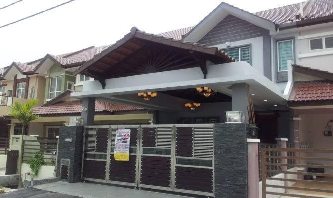 Car Porch Design Malaysia Joy Studio Best House Plans