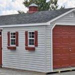 Car Prefab Garage One Shed Horizon Structures