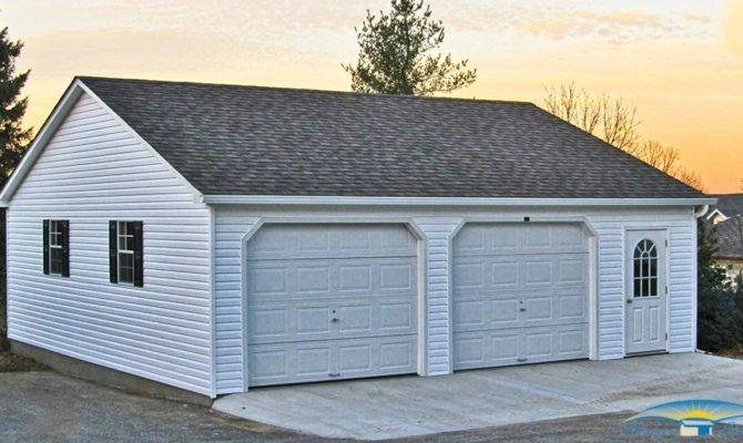 Car Prefab Garages Two Garage Horizon