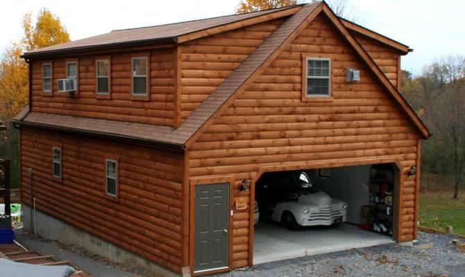Car Story Garage Living Quarters