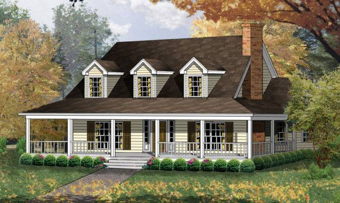 Carney Place Cape Cod Farmhouse Plan House