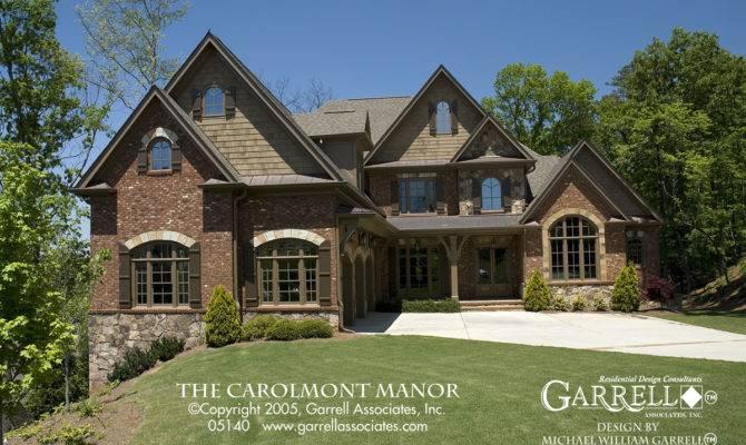 Carolmont Manor House Plan Plans Garrell