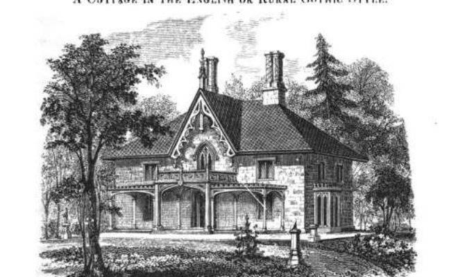 Carpenter Gothic Home Plans Over House