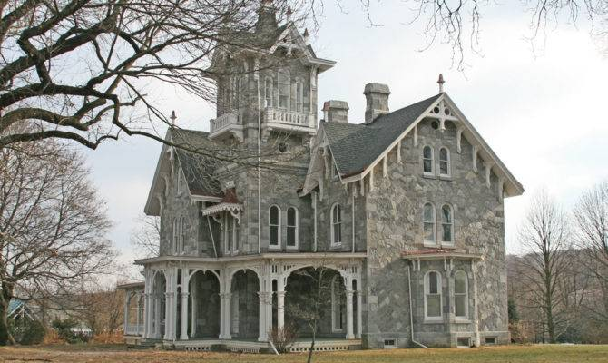 Carpenter Gothic Revival Stick Style House