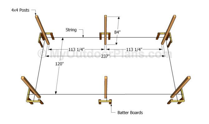 Carport Plans Outdoor Diy Shed Wooden Playhouse