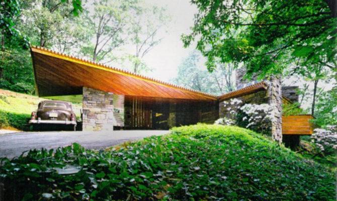 Carport Ranch Style Home Native Garden Design